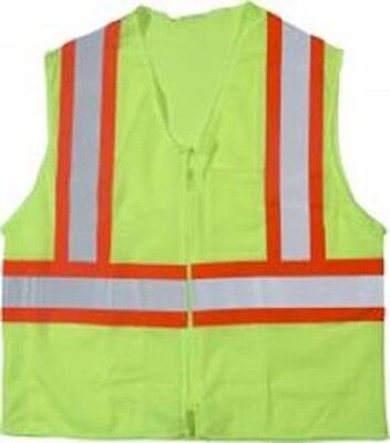Mi Ansi Class 2 Mesh Safety Vest - Smallmedium-dual Sized
