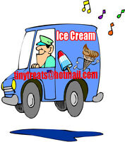 Driver needed for an ice cream truck