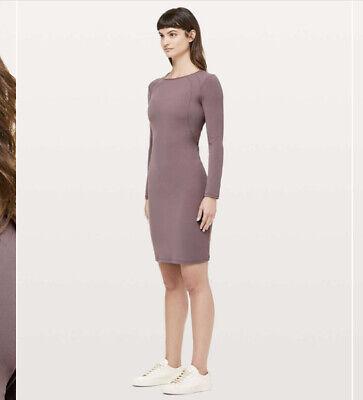 Lululemon's Women's Contour Dress NWT Antique Bark Size 8