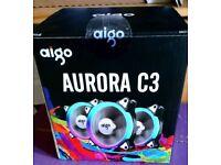 Aigo aurora rgb fans x2 with controller
