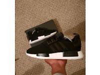 Adidas NMD • U.K 7.5 • Black/Black/White/RoseGold