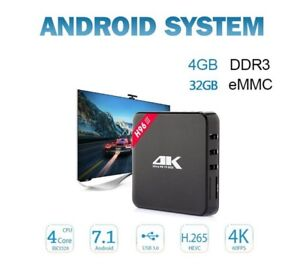 ANDROID TV BOX.  4GB/32GB ANDROID 7.1