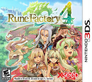 Selling Rune Factory 4 for 3DS