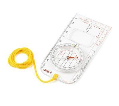 Gelert Deluxe Orienteering Compass - NEW Hiking/Walking  # COM080