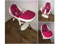 Mamas and Papas Highchair and toddler seat