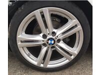 BMW 386 M Style 18 alloy wheels with Tyres