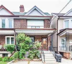Semi-Detached 3+1 Bedroom Home In The Junction, Toronto!