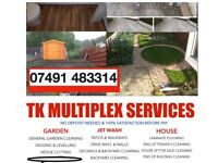 HEDGE & GRASS CUTTING, GARDEN CLEARANCE, DIGGING & LEVELLING, LAMINATE FLOORING, PAINTING AND MORE..
