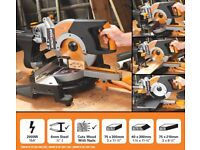 Evaluation Sliding Mitre Saw 255mm/2000watt - Brand New & Seald