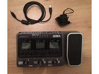 Zoom G3X - Guitar multi FX - Audio Interface - Loop station