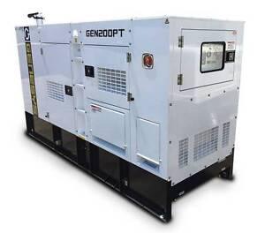 200 KVA Silenced Diesel Generator - Perkins Engine / Stamford Alt Gordon Ku-ring-gai Area Preview