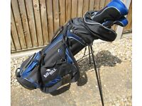 Men's Bay Hill Golf Set with golf bag and stand £10