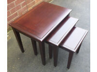 Nest of 3 Tables from Morris Furniture Company