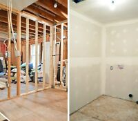 Drywall - Boarding Taping Mudding Texture FREE ESTIMATE