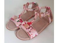 Girls Ted Baker Sandal Size 10