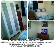 $175pw incl Bills/Gdnr/Hhold sundries/Internet - FF Sec Dbl Room Langford Gosnells Area Preview