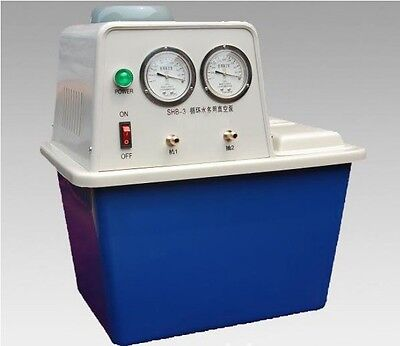 220v180wcirculating Water Vacuum Pumptwo Off-gas Taplab Chemistry Equipment
