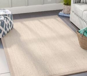 New Large Linen Area Rug 9 * 12