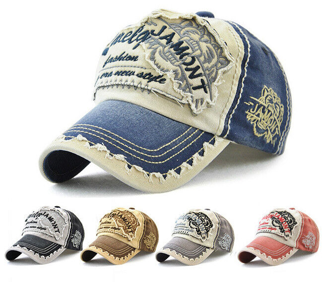 Fashion Basecap Coole Mütze Unisex Must-Have Vintage Baseball Motocross VIP Cap