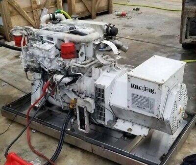 Kilo Pak 6hkp30 8pf3pfg 30 Kw Marine Diesel Generator 60 Hz With Soundshield