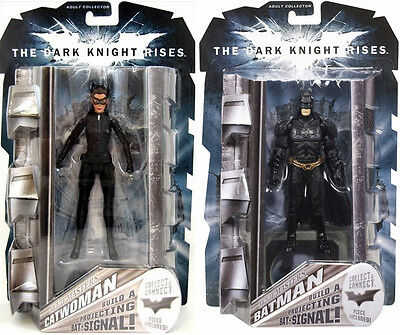 NEW Batman The Dark Knight Rises Movie Masters Catwoman & Batman Action Figures](Catwoman Batman The Dark Knight Rises)