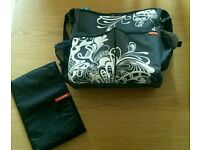 Hop Skip nappy bag with mat