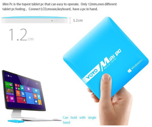 VOYO Mini PC Windows 8.1 Media Player Intel Z3735F 2G RAM