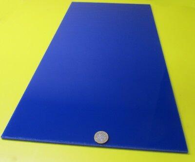 2050 Opaque Blue Acrylic Sheet 14 Thick 12 X 24