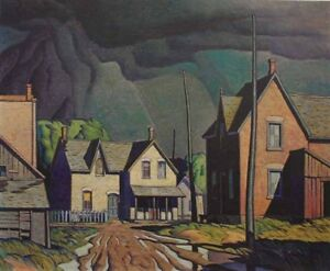 """A.J. Casson Limited Edition """"Approaching Thunderstorm"""""""