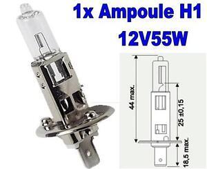 1 Ampoule H1 12V55W P14.5S LADA 111 - France - État : Neuf: Objet neuf et intact, n'ayant jamais servi, non ouvert, vendu dans son emballage d'origine (lorsqu'il y en a un). L'emballage doit tre le mme que celui de l'objet vendu en magasin, sauf si l'objet a été emballé par le fabricant d - France