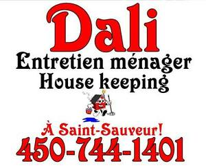 Dali entretien ménager housekeeping cleaning companie