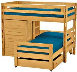 Crate Designs Kids Bunk/Loft Bed Set