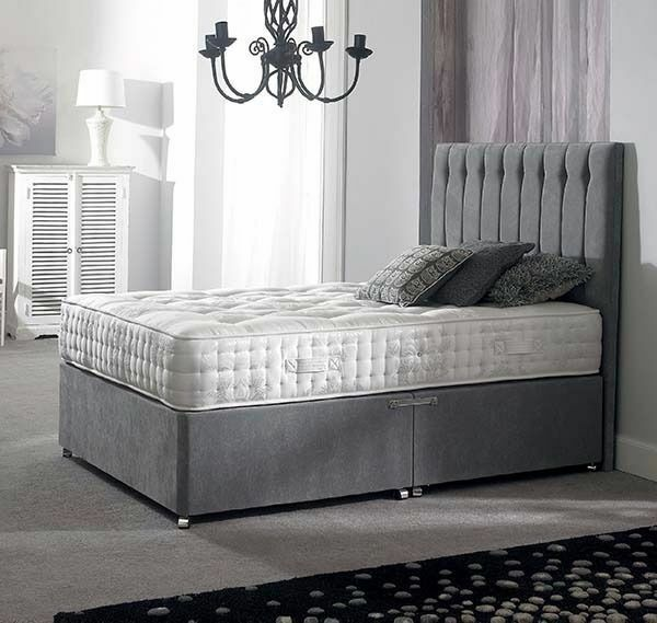 ROYAL BED Brand New Double Divan Bedin Hatfield, HertfordshireGumtree - CALL NOW 02080047596 CALL NOW 02080047596 BRAND NEWFABRIC BEDAVAILABLE IN 4 SIZES SINGLE 3FT PRICE 250SMALL DOUBLE 4FT PRICE 270DOUBLE BED 4FT 6 INCH PRICE 280KING SIZE BED 5FT PRICE 299DOUBLE DIVAN BEDCOMPLETE BED WITH MATTRESS AND STANDIN...