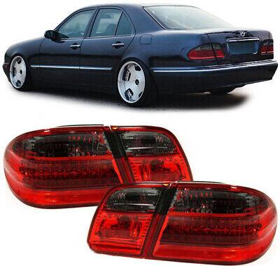 LED Rückleuchten rot schwarz für Mercedes E Klasse Limousine W210 95-02