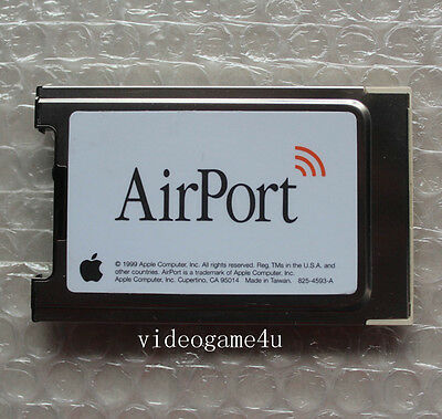 Original Airport Airmac Wireless WiFi Card for iMac Powerbook iBook G3 G4 eMac