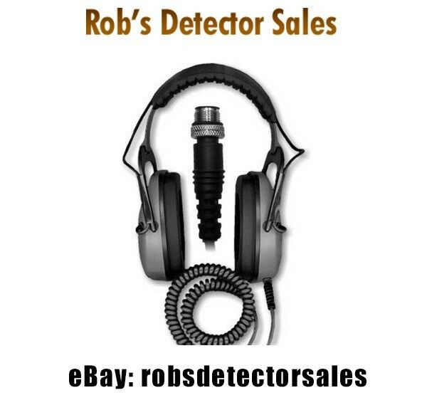DetectorPro Gray Ghost Underwater Headphones for the Minelab CTX 3030 Detector