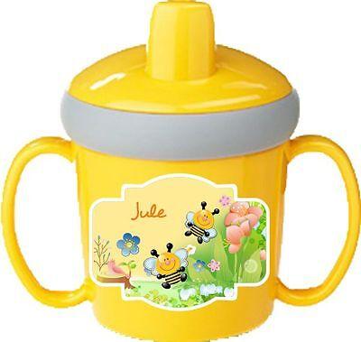 Lerntasse Rosti Mepal mit Namen und Wunschmotiv kleinkind becher tasse krippe