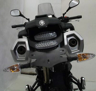 RG TAIL TIDY NUMBER PLATE BRACKET HOLDER BLACK <em>YAMAHA</em> XT660 Z TENERE