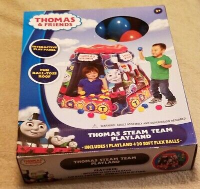 Thomas & Friends Steam Kids Team Playland With 20 Softballs