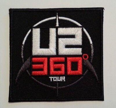 U2 Bono 360 Degree Album Tour~Embroidered Applique Patch~3