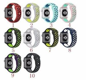 Apple Watch Bands - Silicone - Nike - Buckle - 42mm / 38 mm - BRAND NEW Replacement Bands