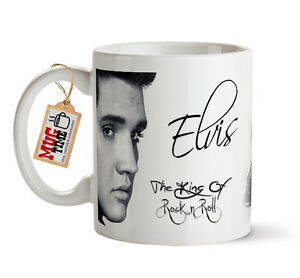 Elvis Presley - The King of Rock & Roll - Mug Cup - With signature