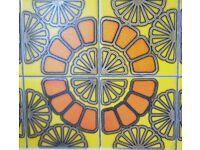 Vintage wall tiles