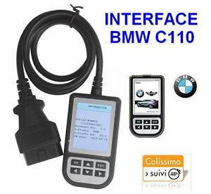 scanner c110 bmw interface valise diagnostic diagnostique obd obd2 obdii diag. Black Bedroom Furniture Sets. Home Design Ideas