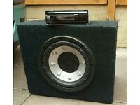 Sony stereo and sub