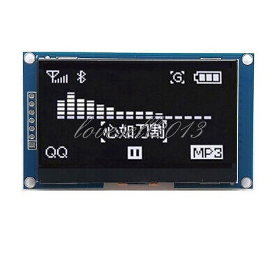 White 2.42 Inch Oled Display Ssd1309 128x64 Spi Serial Port Module For Arduino
