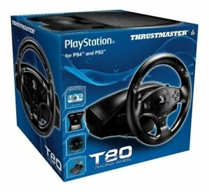 THRUSTMASTER T80 PLAYSTATION STEERING WHEEL