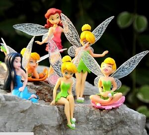 New-High-Quality-PVC-6pcs-set-Tinkerbell-Fairy-Adorable-tinker-bell-Figures