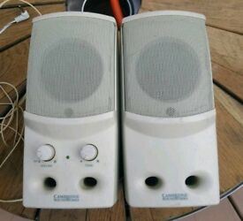 Cambridge Soundworks SBS52 multimedia speakers