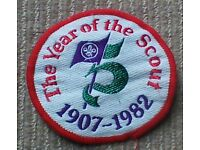 scout fabric patch